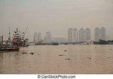 Port of Ho Chi Minh City.