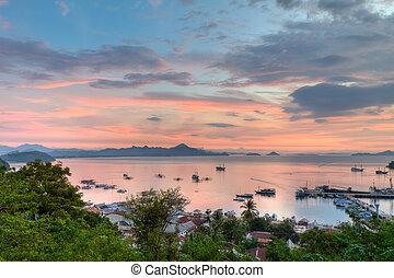 port of Labuan Bajo, Flores Island, Indonesia