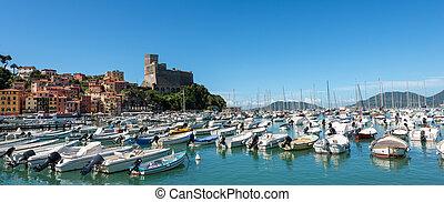Port of Lerici Town - La Spezia - Italy
