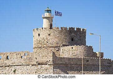 Port of Rhodes, Greece