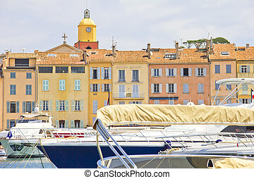 Port of Saint-Tropez, France