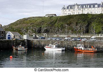 Port Patrick Harbour, Galloway, Sco