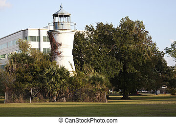 Port Pontchartrain Lighthouse - New Orleans, Louisiana.