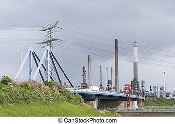 port, rotterdam, secteur