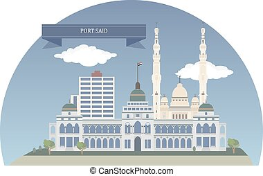 Port Said, Egypt - Port Said. City that lies in north east...