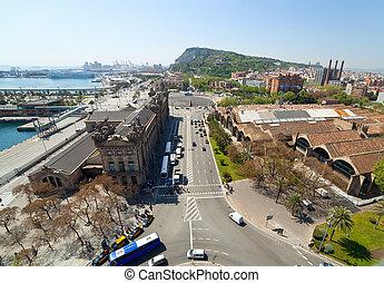 Port Vell. Barcelona, Spain