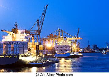 port, ville, activité