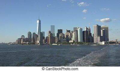 port, ville, york, nouveau