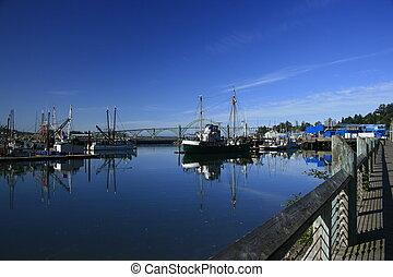 port, yaquuina, baie