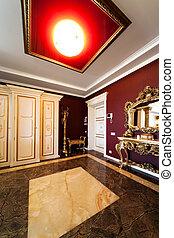 porta, apartamento, modernos