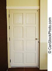 porta, bianco