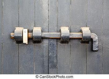 porta, fechado