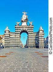Porta Garibaldi gate in Catania - Porta Garibaldi gate (1768...