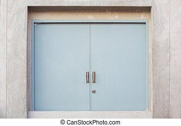 porta, ignifugo