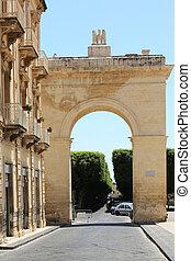 Porta Nazionale Noto Sicily - the Porta Nazionale in Noto, ...