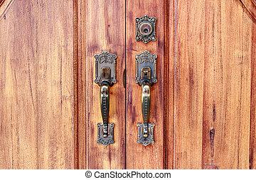 porta, para, seu, repouso novo