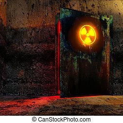porta, pericolo