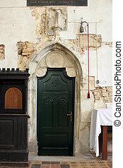 porta, sacristy