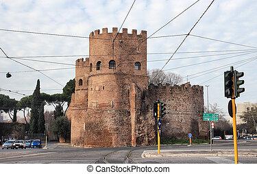 Porta San Paolo in Rome