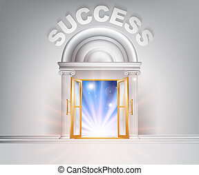 porta, sucesso