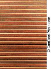 porta, textura madeira, veneziana, janela, fundo