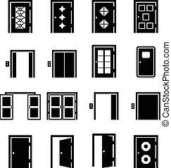porta, vetorial