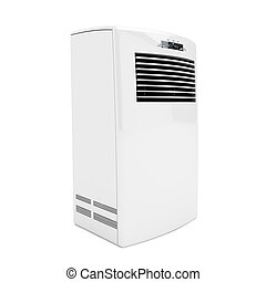 Portable air conditioner - 3d image of portable air ...