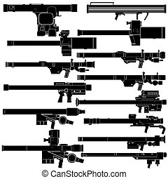 Portable air defense systems - Contour image of man-portable...