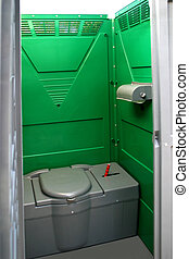 Portable Bathrooms - Portable chemical toilets for...