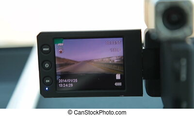 Portable car dvr digital video recorder with lcd screen...