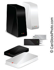 Portable / Desk Hard Disks and USB