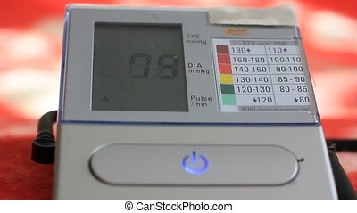 Portable device of measuring blood