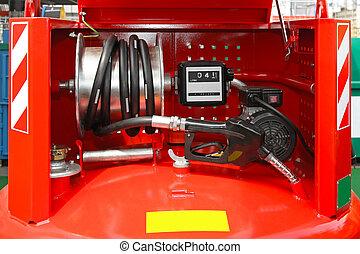 Portable diesel tank