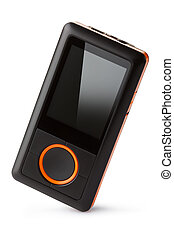 Portable digital audio player