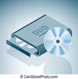 Portable DVD Drive
