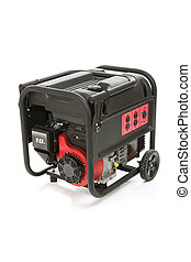 Portable Electric Generator - Gasoline powered, ten...