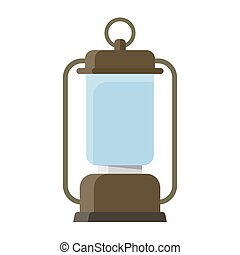 Portable electric lantern camping