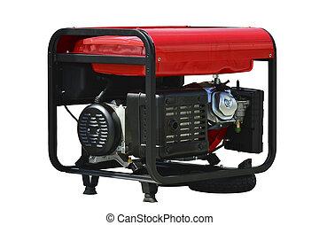 Portable generator - Portable fuel electricity generator,...