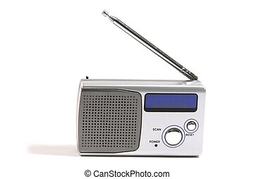 Portable Radio - Isolated portable radio