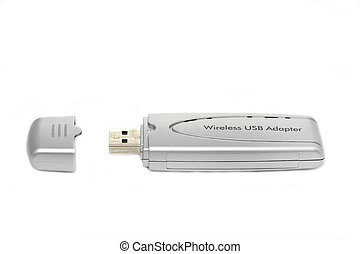 Portable wireless usb adapter