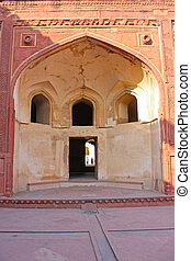 portail, amar, agra, singh, fort rouge