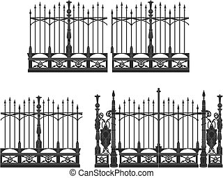 portail, barrière