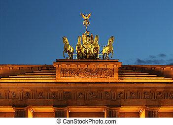 portail, berlin, brandenburg