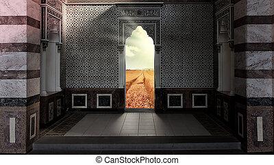 portail, cieux