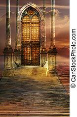 portail, essor