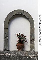 portail, fermé