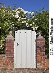 portail, jardin