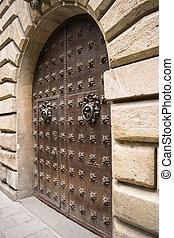 portail, moyen-âge