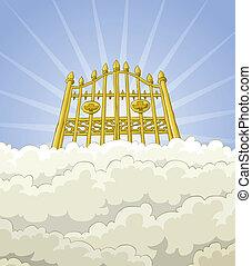 portail, paradis