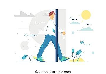 Portal door to better living